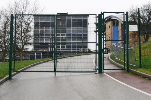 Hinged-Entrance-Gates